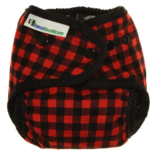 best bottom cloth diaper cover -  Red Plaid