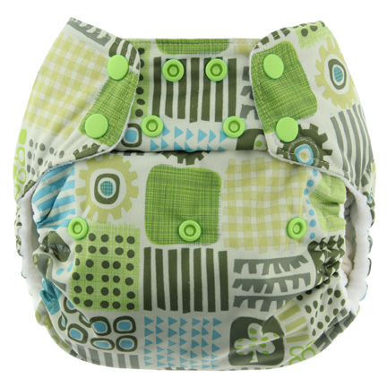 blueberry one size diaper - geo