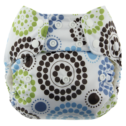 blueberry one size diaper - round about