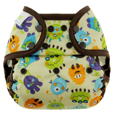 blueberry coveralls diaper cover - Monster