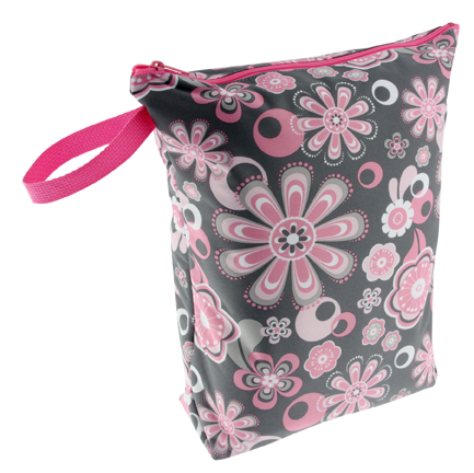 blueberry wet bag - Petals