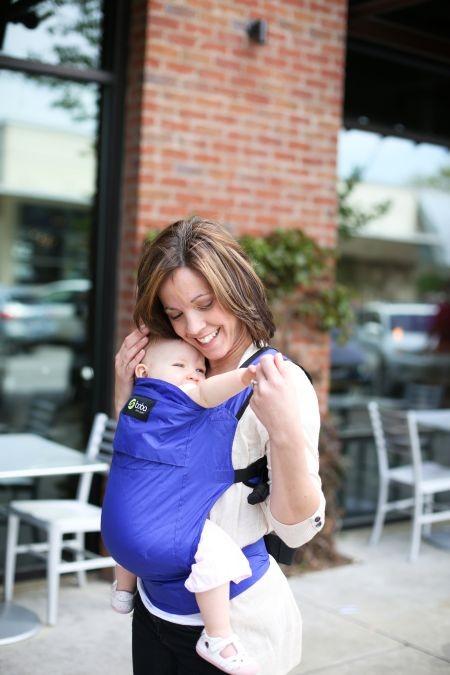 bobaair baby carrier - blue