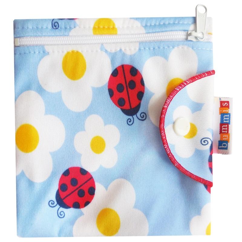 Bummis Fabulous Flo Bag for Menstrual Pads - ladybug