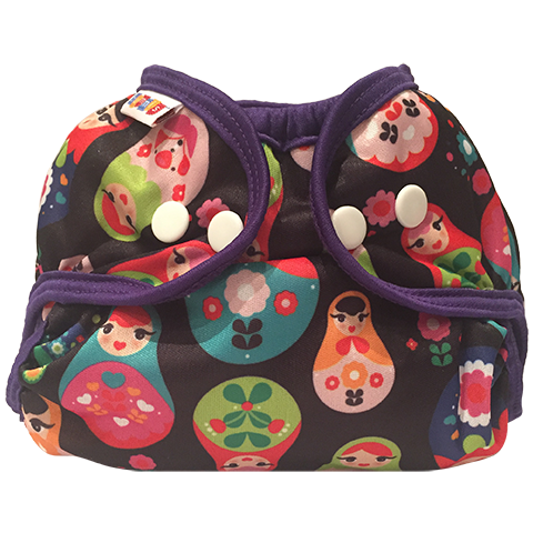 bummis simply lite diaper cover - Russian Dolls