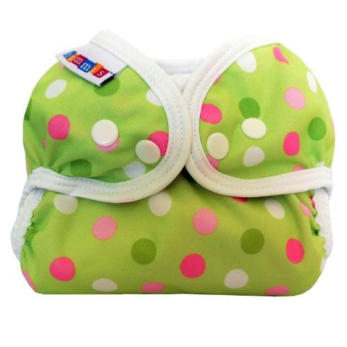 bummis simply lite diaper cover - Pistachio Dot
