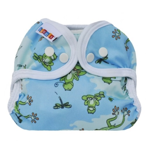 bummis simply lite diaper cover - Froggy Pond