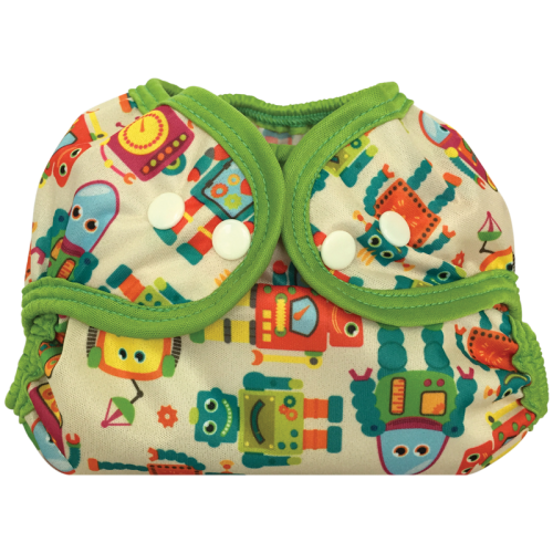 bummis simply lite diaper cover - Vintage Robot