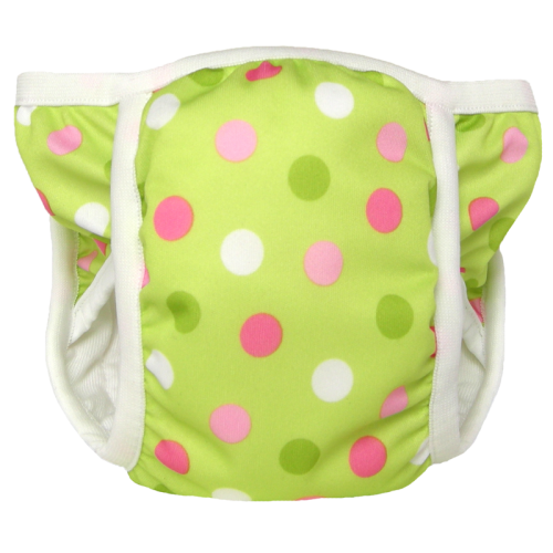 bummis training pants -  Pistachio Dot