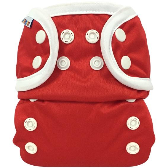 bummis aio cloth diaper - Red