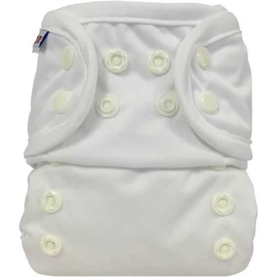 bummis aio cloth diaper - White