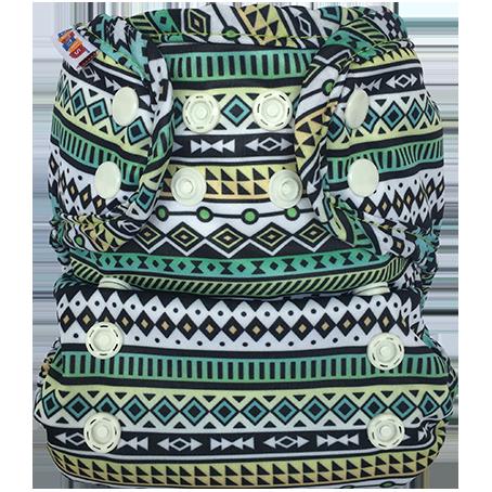 bummis aio cloth diaper - Aztek