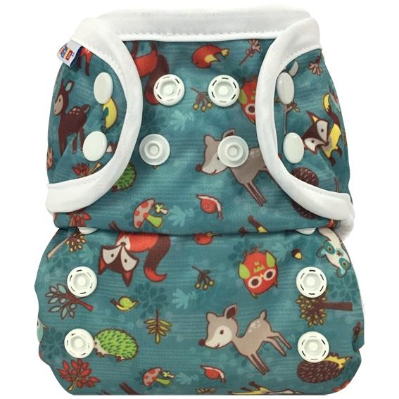 bummis aio cloth diaper -  Forest Animals