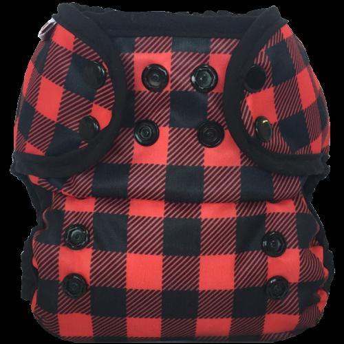 bummis aio cloth diaper -  Lumberjack