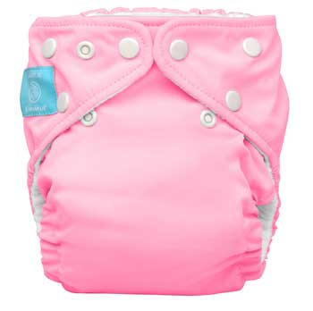 charlie banana one size cloth diaper - Baby Pink