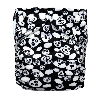 charlie banana one size cloth diaper - blackbeary