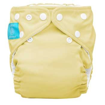 charlie banana one size cloth diaper - butter