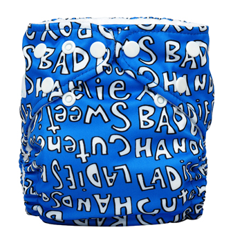 charlie banana one size cloth diaper - handsome
