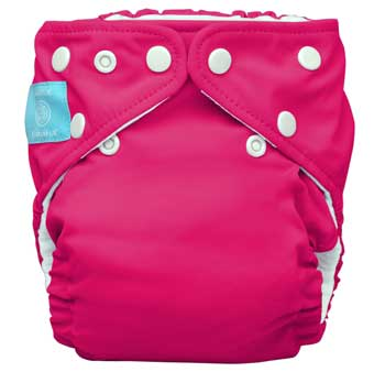 charlie banana one size cloth diaper - hot pink