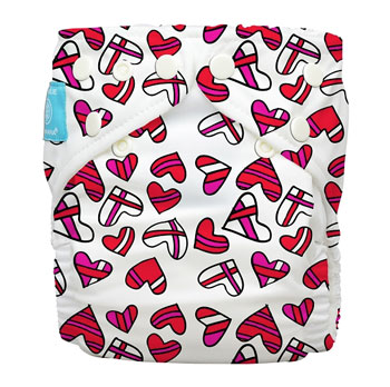 charlie banana one size cloth diaper - katie