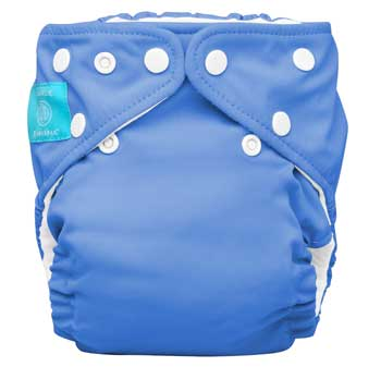 charlie banana one size cloth diaper - Periwinkle