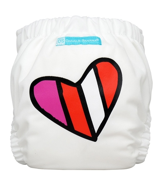 charlie banana one size cloth diaper - Red Petit Coeur
