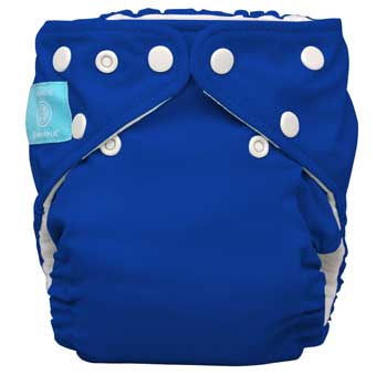 charlie banana one size cloth diaper - royal blue