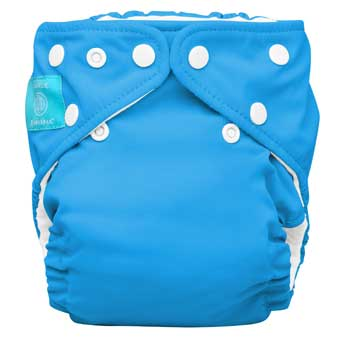 charlie banana one size cloth diaper - turquoise
