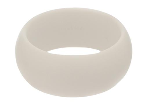 chewbeads - charles teething bracelet - white