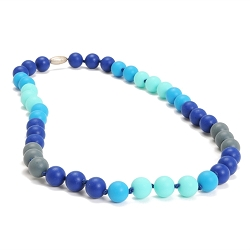 chewbeads - bleecker teething necklace - turquoise