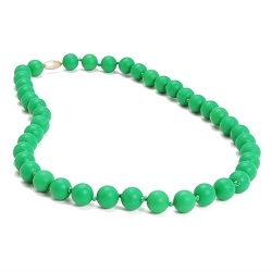 chewbeads - jane teething necklace - green