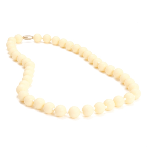 chewbeads - jane teething necklace - ivory