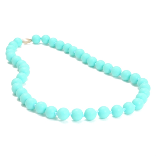 chewbeads - jane teething necklace - Turquoise