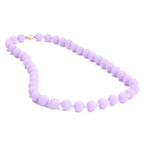 chewbeads - jane teething necklace - Violet