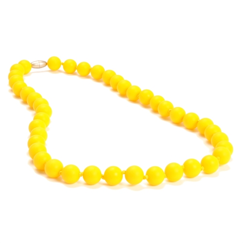 chewbeads - jane teething necklace - yellow