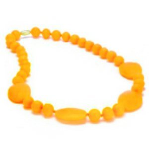 chewbeads - perry teething necklace - Creamsicle