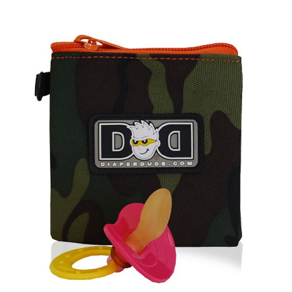 diaper dude pacifier holder - camo