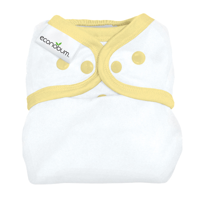 econobum diaper cover - butter
