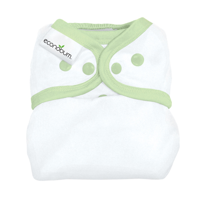 econobum diaper cover - grasshopper