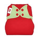 flip diaper cover - festive twist - falalalala