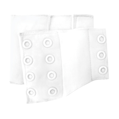 flip training pants side panel - White