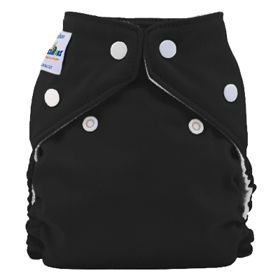 fuzzibunz one size elite diaper - Licorice