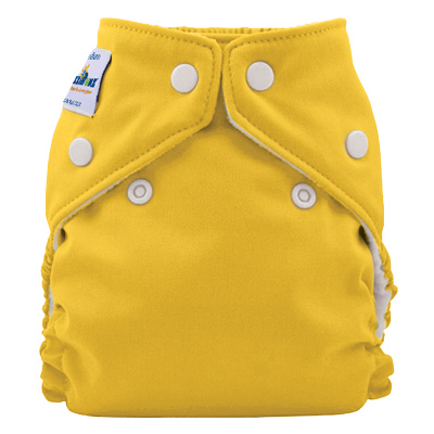 fuzzibunz one size elite diaper -   Pineapple Fizz