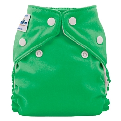 fuzzibunz one size elite diaper - Shamrock