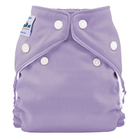 fuzzibunz one size elite diaper -  Sweet Lavender