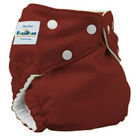 fuzzibunz one size elite cloth diaper - Choco Truffle
