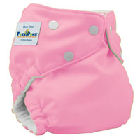fuzzibunz one size elite cloth diaper - cottoncandy