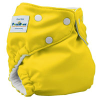 fuzzibunz one size elite cloth diaper - macncheese