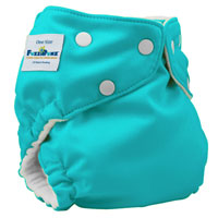 fuzzibunz one size elite cloth diaper - spearmint