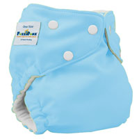 fuzzibunz one size elite cloth diaper - tootie frootie