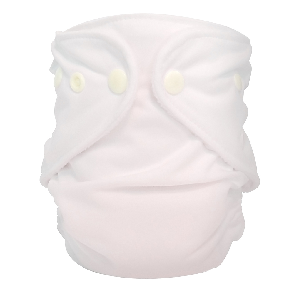 fuzzibunz first year adjustable diaper - PURE